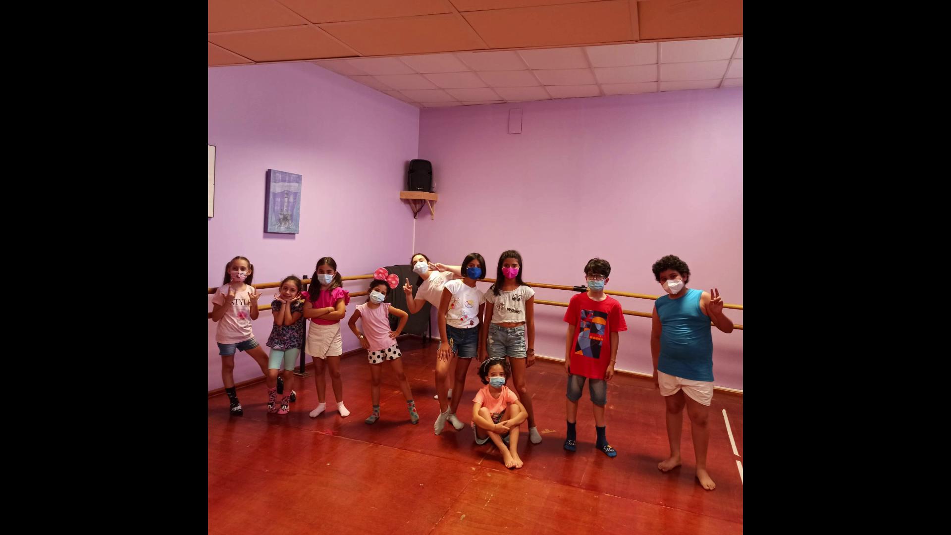 Piccoli danzatori all'opera